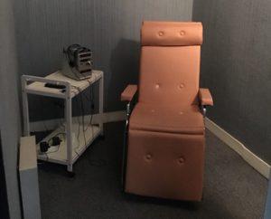 Une cabine individuelle de relaxation pour l'apprentissage des langues