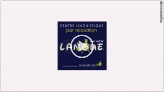 Présentation vidéo d'une autre langue - Cours Anglais, Italien, Allemand à Bordeaux
