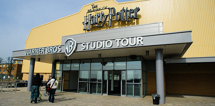 Warner Bros in London - Harry Potter
